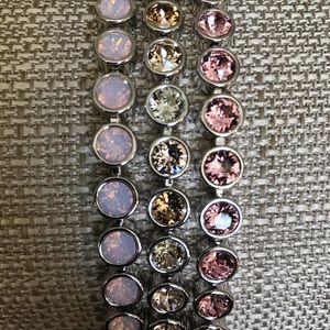 Lot of 3 ice bracelets Swarovski Touchstone BNIB